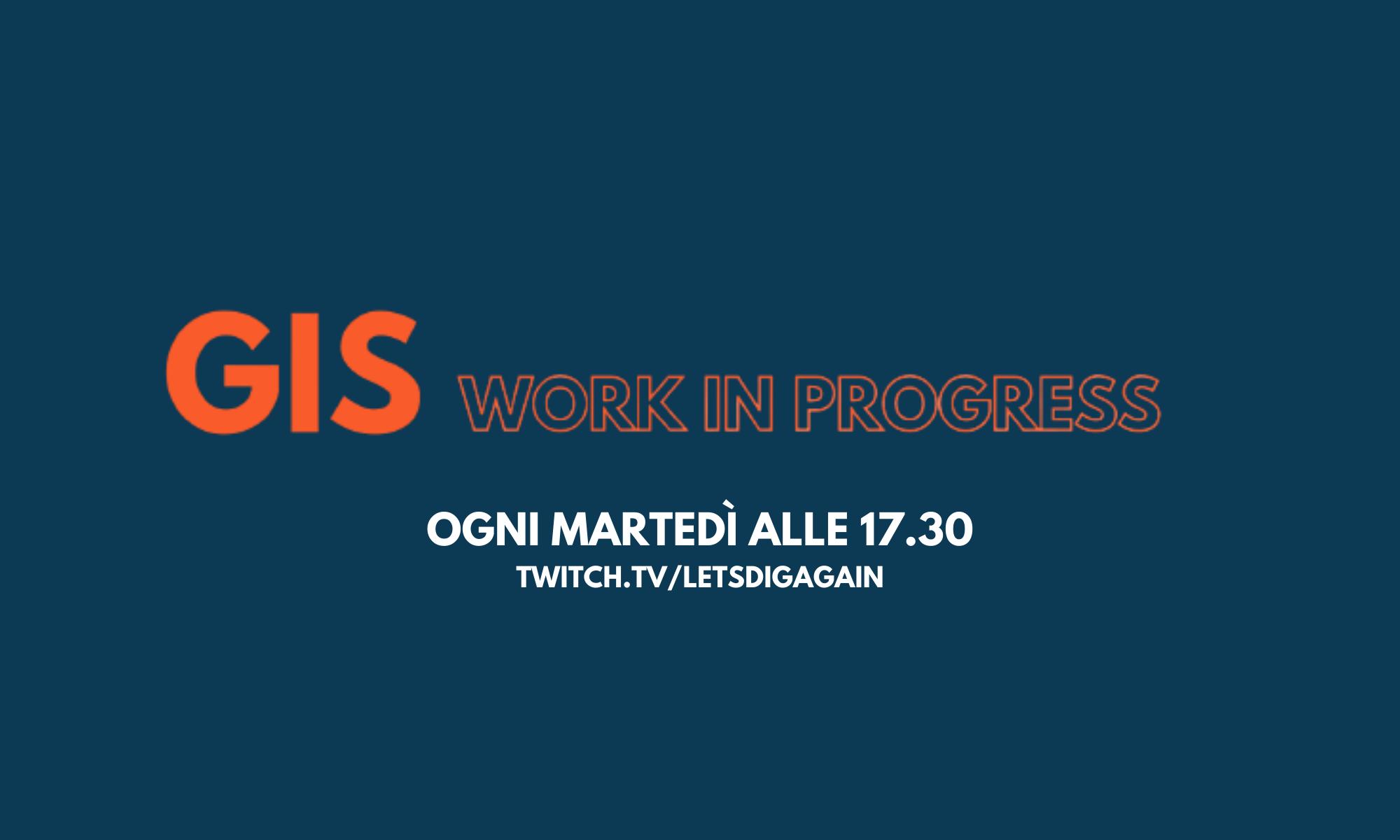 GIS work in progress